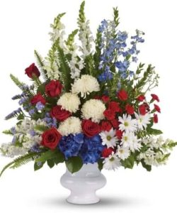 military homecoming floral services